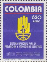 [Airmail - International Decade for Natural Disaster Reduction - National Disaster Prevention System, Typ BKR]