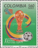 [Airmail - Football World Cup - U.S.A., Typ BKW]