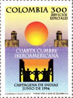 [The 4th Latin American Presidential Summit, Cartagena, Typ BKY]