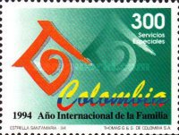 [Airmail - International Year of the Family, Typ BLE]