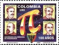 [The 100th Anniversary of Colombian Society of Engineers, Typ BLH]
