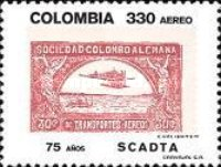 [Airmail - The 75th Anniversary of Sociedad Colombo-Alemana de Transportes Aereos, SCADTA, Typ BLL]