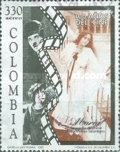 [Airmail - The 100th Anniversary of Motion Pictures, Typ BMV]