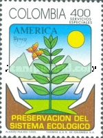 [Airmail - America - Nature Conservation, Typ BMZ]