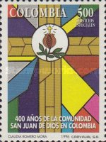 [The 400th Anniversary of the Hospitaller Order of St.John of God in Colombia, Typ BNL]