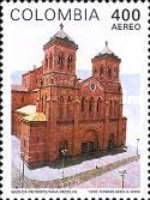 [Airmail - Cathedral of Medellin, Typ BNR]