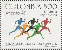 [Olympic Games - Atlanta, USA and the 100th Anniversary of Modern Olympic Games, Typ BNS]