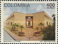 [Airmail - Architecture - National Archive, Bogota, Typ BNU]
