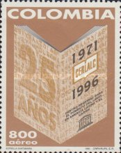 [Airmail - The 25th Anniversary of Regional Centre for the Development of Books in Latin America and Caribbean, Typ BNZ]