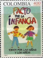 [Airmail - Children's Rights, Typ BOV]
