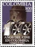 [Airmail - The 100th Anniversary of Colombian Cinema and the 53rd International Union of Film Archives Congress, Cartagena de Indias, Typ BOX]