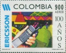 [Airmail - The 100th Anniversary of Ericsson Company in Colombia, Typ BOZ]