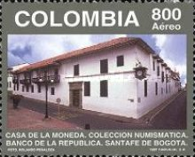 [Airmail - The 1st Anniversary of Numismatic Museum at State Mint, Bogota, Typ BPD]
