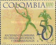 [Airmail - The 50th Anniversary of Colombian Society of Orthopaedic Surgery and Traumatology, Typ BPG]