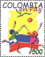 [Christmas - Colombia at Peace, Typ BQH]