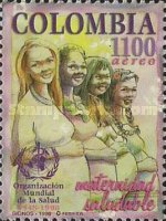 [Airmail - The 50th Anniversary of WHO Safe Motherhood, Typ BQJ]
