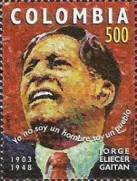 [The 50th Anniversary of the Death of Jorge Eliecer Gaitan, 1898-1948, Typ BQL]