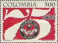 [The 75th Anniversary of Colombia Free University, Typ BQS]