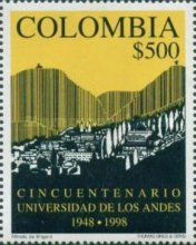 [The 50th Anniversary of University of the Andes, Bogota, Typ BQY]