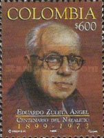 [The 100th Anniversary of the Birth of Eduardo Zuleta Angel, Politician and Diplomat, 1899-1973, Typ BRW]