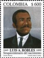 [The 150th Anniversary of the Birth of Luis A. Robles, 1849-1899, Typ BSJ]