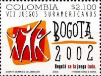[The 7th South American Games, Bogota, Typ BTY]