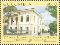 [The 100th Anniversary of Society of Surgeons, San Jose Hospital, Bogota, Typ BUW]