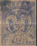 [Cartagena Issue - Coat of Arms, Typ CA1]