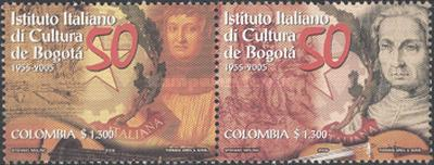 [The 50th Anniversary of Italian Cultural Institution, Bogota, Typ CDD]