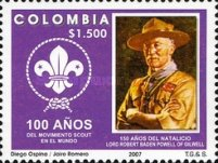 [The 100th Anniversary of the Boy Scout Movement, Typ CFB]