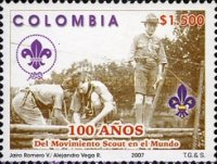 [The 100th Anniversary of the Boy Scout Movement, Typ CFC]