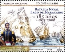 [The 185th Anniversary of Battle on Lake Maracaibo, Typ CGF]