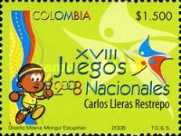 [The 18th National Sports Games, Valle del Cauca and San Andres y Providencia, Typ CHD]