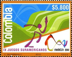 [The 9th South America Games - Medellin, type CLH]