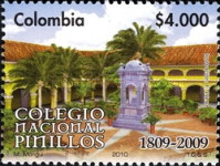 [Tye 200th Anniversary of the National College Pinillos, type CNK]