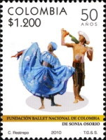 [The 50th Anniversary of the Foundation of the National Ballet -  Sonia Osorio Ballet of Colombia, type COG]