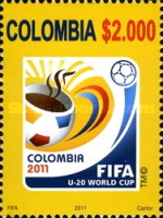 [Football - Under 20 Football World Cup - Columbia, Typ CON]