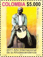 [International Year for People of African Desent, Typ CPN]