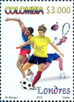 [Olympic Games - London, England, Typ CPW]