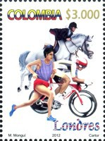 [Olympic Games - London, England, Typ CPY]