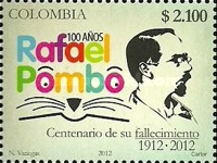 [The 100th Anniversary of the Death of Rafael Pombo, 1833-1912, Typ CQG]