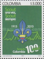 [The 100th Anniversary of Scouting in Colombia, Typ CSH]