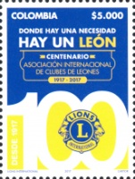 [The 100th Anniversary of Lions Clubs International, Typ CWQ]