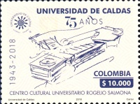 [The 75th Anniversary of the University of Caldas, Typ DBC]