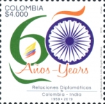 [The 60th Anniversary of Diplomatic Relations with India, Typ DBS]