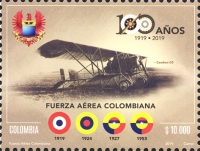 [The 100th Anniversary of the Colombian Air Force, type DCW]