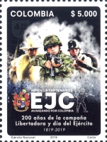 [The 200th Anniversary of the EJC - National Army of Colombia, type DDA]