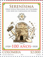 [The 100th Anniversary Serenisima Grand National Masonic Lodge in Cartagena, type DHA]
