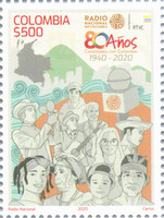 [The 80th Anniversary of the Radio Nacional de Colombia, type DKG]