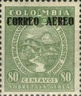 [Airmail - Previous Issues Overprinted